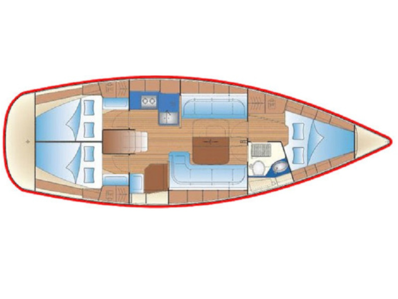 Bavaria 38 Cruiser (Discovery) Plan image - 3