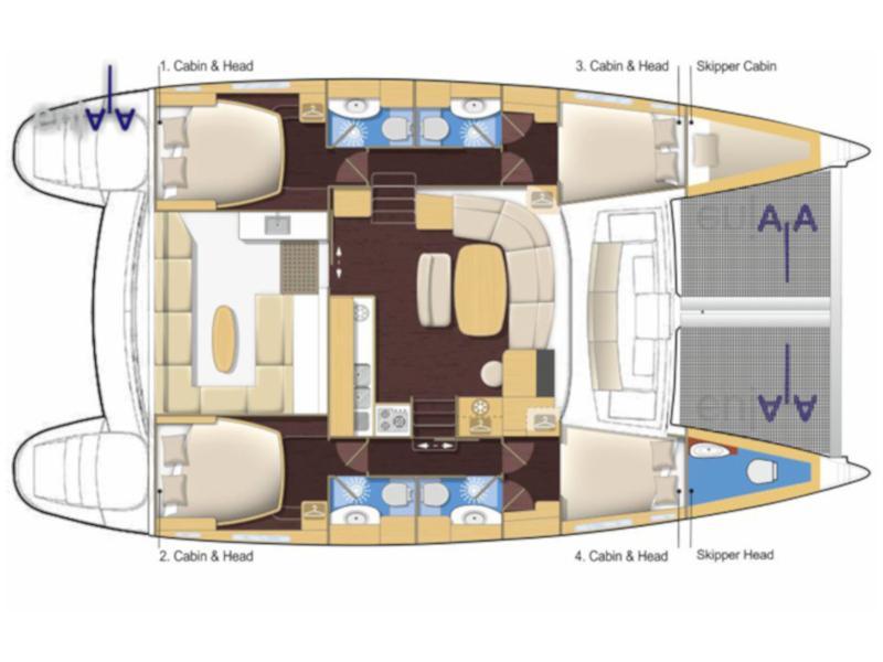 Lagoon 440 (Enjala) Plan image - 2