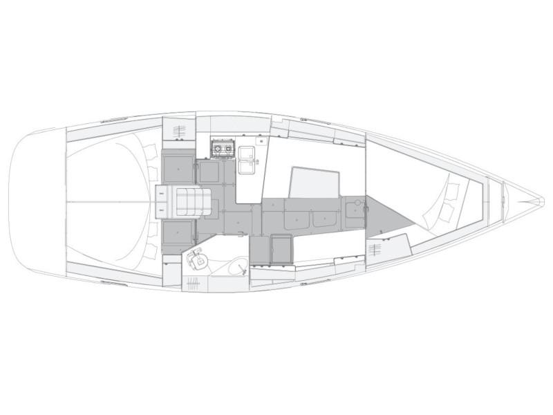 Elan 40.1 (Tamikaya) Plan image - 3