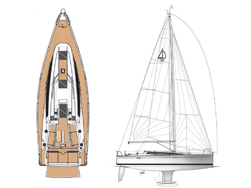Dehler 38 (Eo-Lien)  - 3