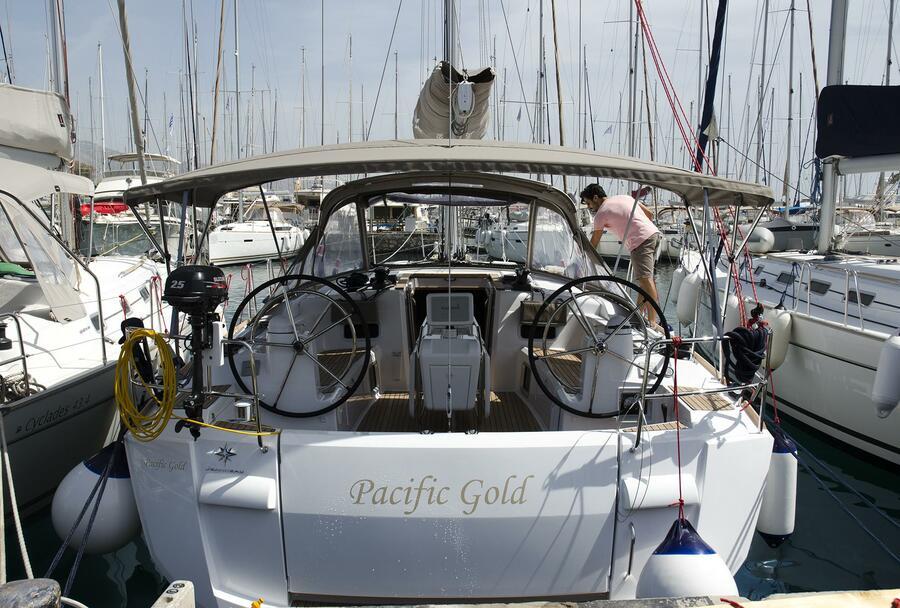 Sun Odyssey 479 (Pacific Gold)  - 2
