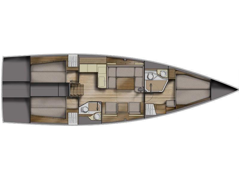 Azuree 46 (Profilo 2.0) Plan image - 1