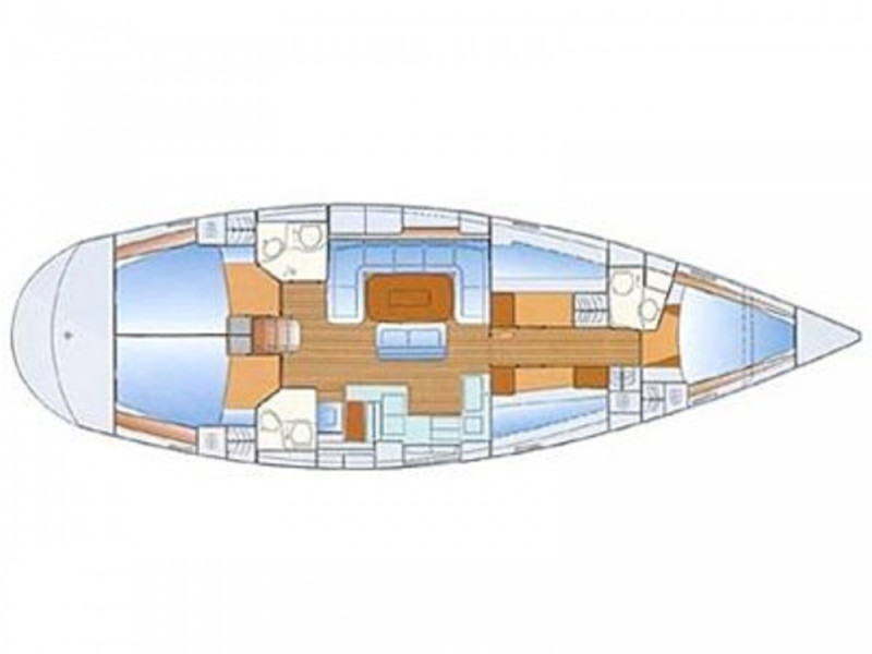 Bavaria 50 Cruiser (Sirius) Plan image - 13