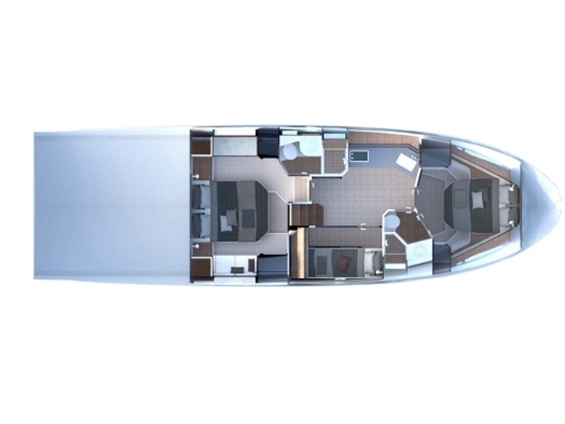 Azimut 50 (Blue Marina) Plan image - 10