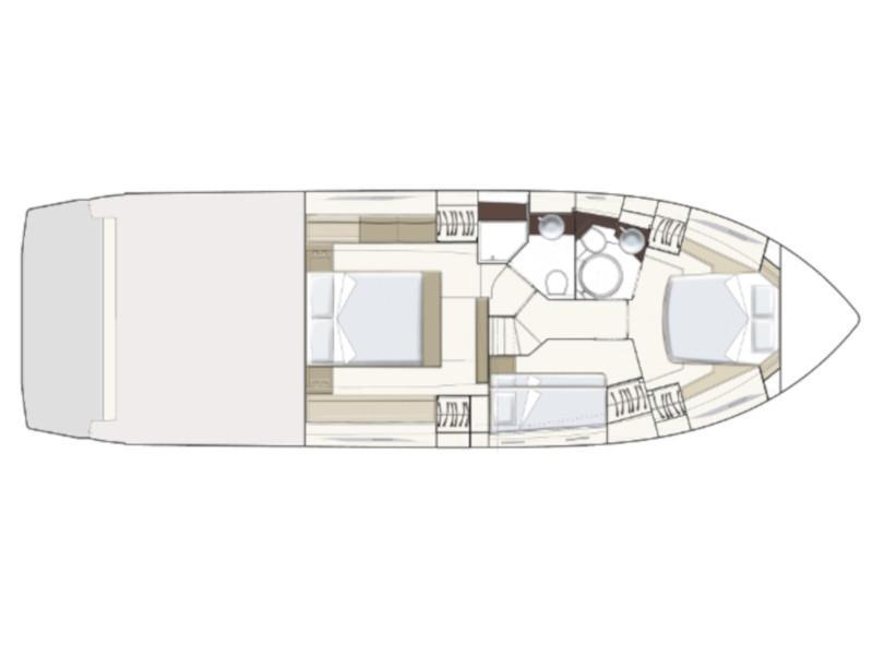 Ferretti 450 (Lady Esmeralda) Plan image - 14