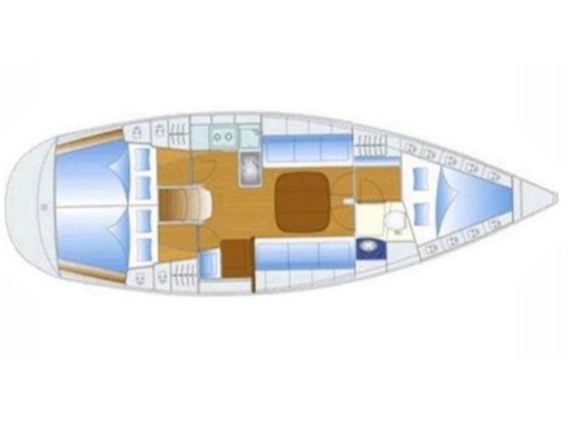 Bavaria 37 Cruiser (Iro) Plan image - 1
