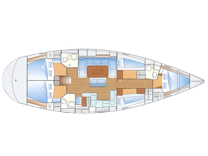 Bavaria 50 Cruiser (Lollipop) Plan image - 4