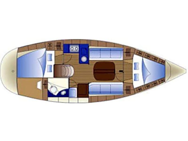 Bavaria 32 (Alexandros) Plan image - 2