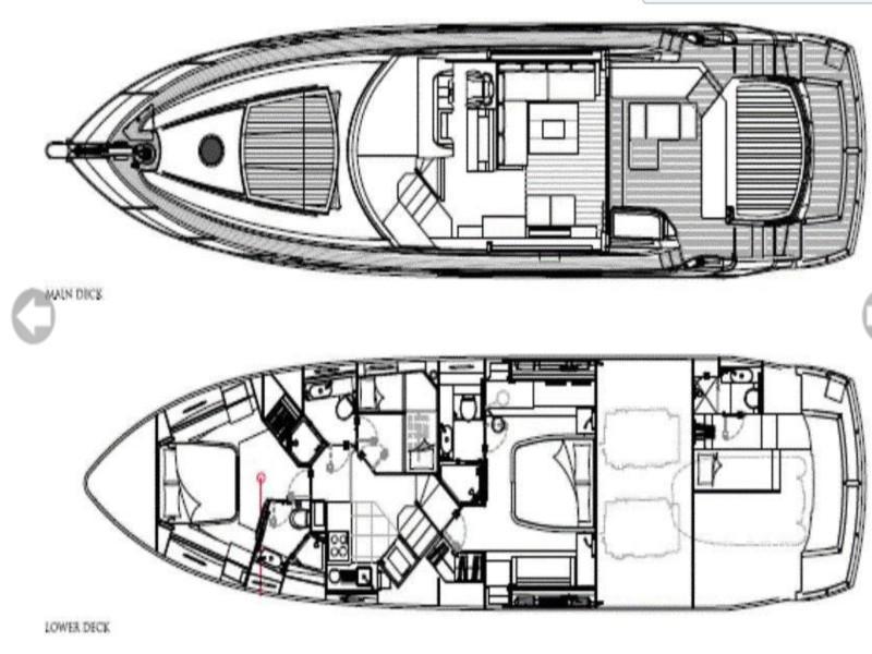 Sunseeker Predator 64 (MARITA) Plan image - 5