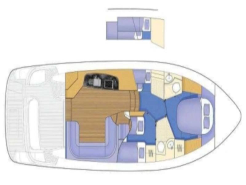 Sealine F42-5 Fly (SUNSHINE 8) Plan image - 15