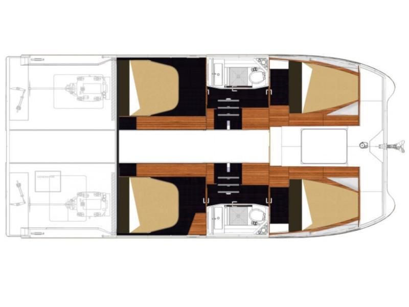 MY 37- 4. cab. (MareTortuga) Plan image - 6