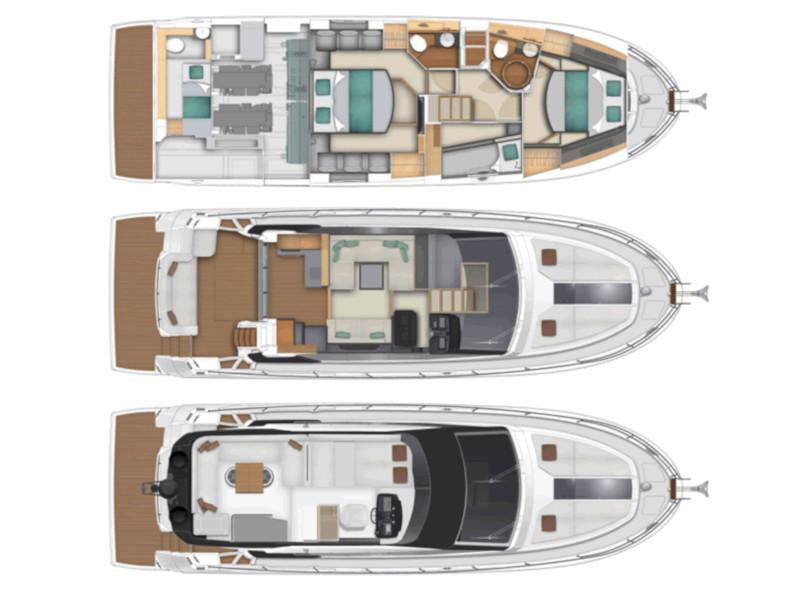 Monte Carlo 5 (3+1 cab.) (Jaluca) Plan image - 12