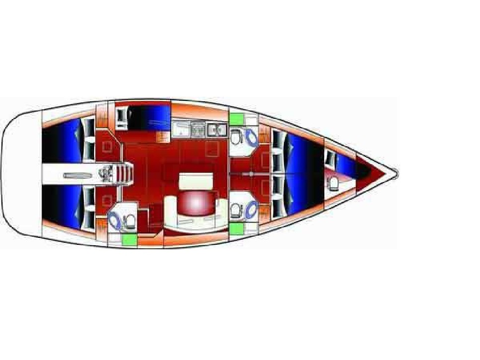 Cyclades 50.5 (MANNA+BowThruster) Plan image - 4