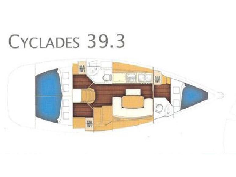 Cyclades 393 (Panayia) Plan image - 7