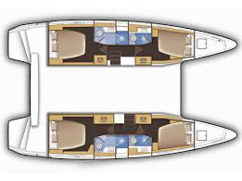 Lagoon 42 (FANTASEA) Plan image - 9