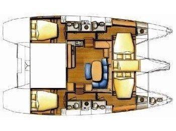 Lagoon 420 (Lag42003) Plan image - 2