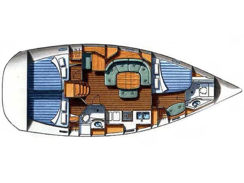 Oceanis 393 Clipper (Chiruca) Plan image - 6