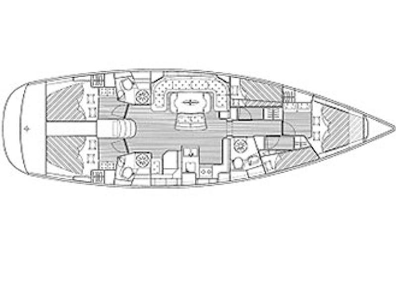 Bavaria 50 Cruiser (Lollipop) Plan image - 2