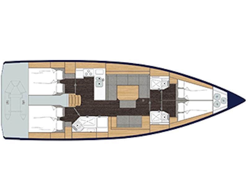 Bavaria C45 (FL1) Plan image - 1