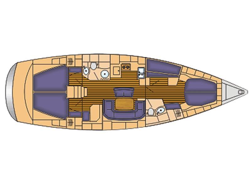 Bavaria 46 Cruiser (Frixos) Plan image - 7