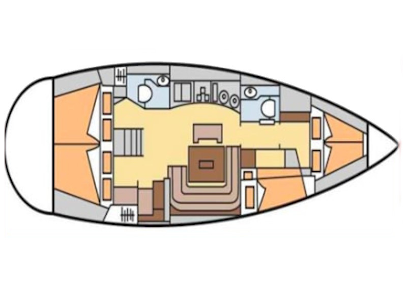 Bavaria 44 (Morgana) Plan image - 8