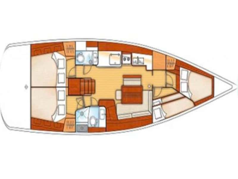 Oceanis 46 (Myron) Plan image - 5