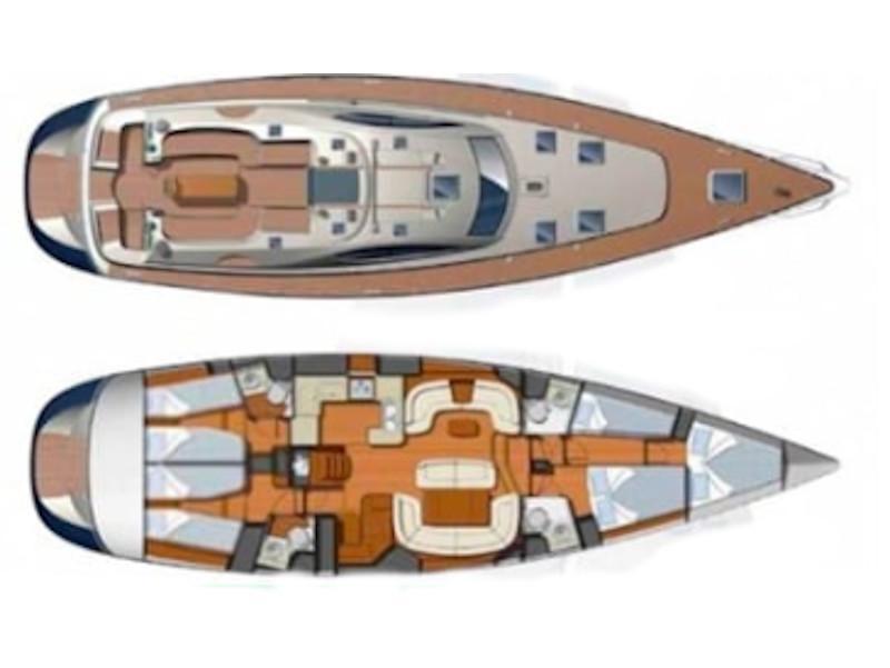 Sun Odyssey 54DS (Mata) Plan image - 4