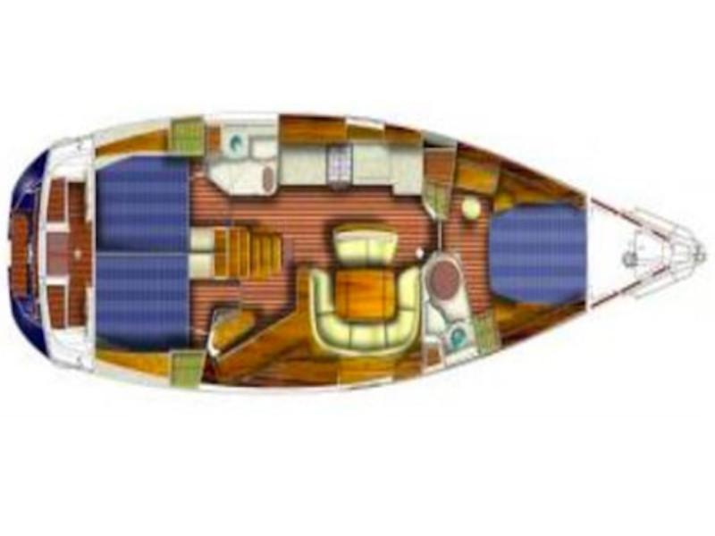Sun Odyssey 49 (Don Pepe) Plan image - 2