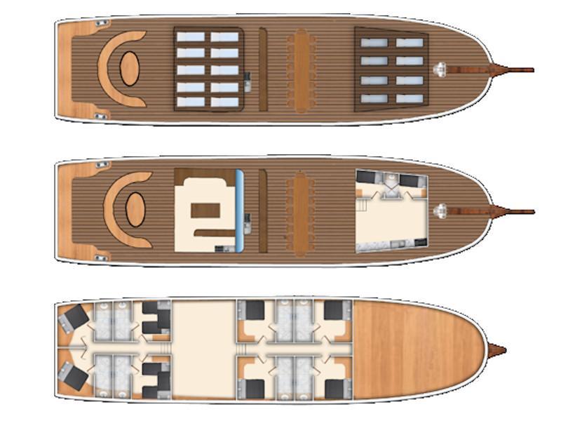 Gulet- Alaturka 81 (Alaturka 81) Plan image - 23