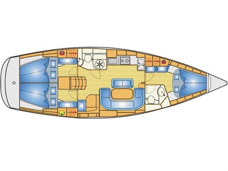 Bavaria 40 Cruiser S (Canenas) Plan image - 8