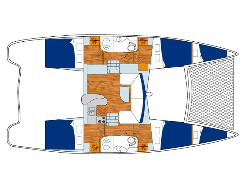 Leopard 40 () Plan image - 2