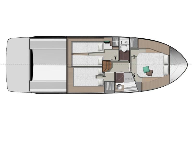 Jeanneau NC 37 (Maruzzella) Plan image - 2