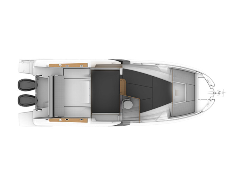 Beneteau Flyer 8.8 (Nauti One) Plan image - 3