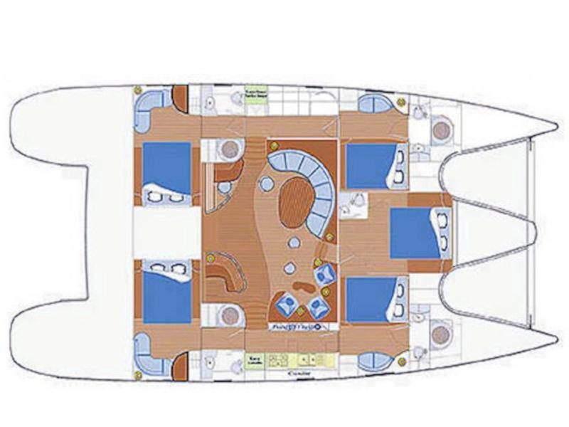 Privilege 585 (Matira) Plan image - 9