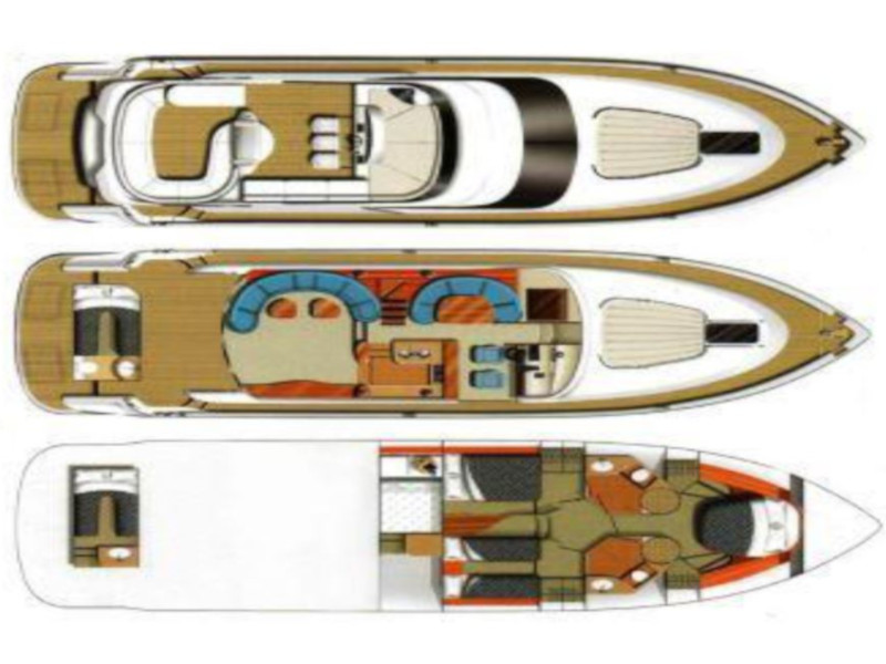 Fairline Squadron 58 (Vagabundo) Plan image - 1