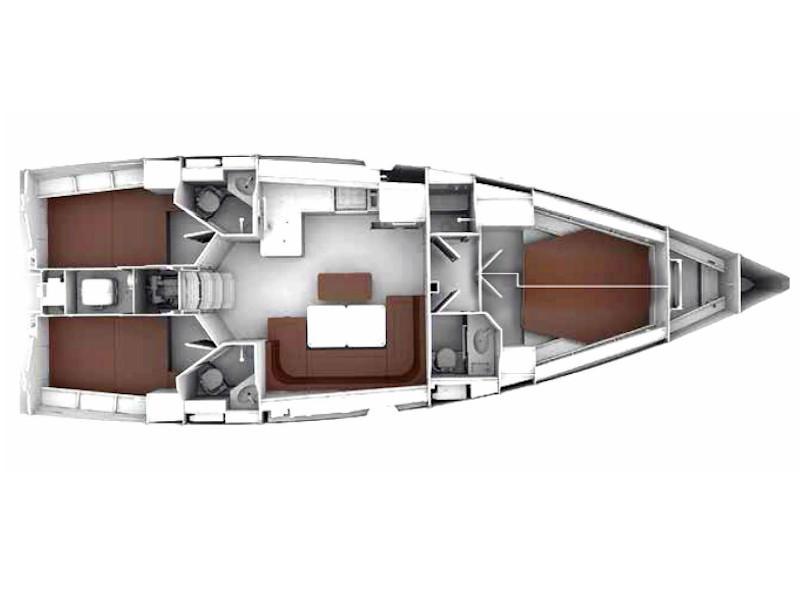 Bavaria Cruiser 46 Style (MARLIN) Plan image - 30