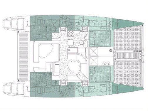 Voyage 440 (Alboran Ron Punch (Majorca)) Plan image - 1