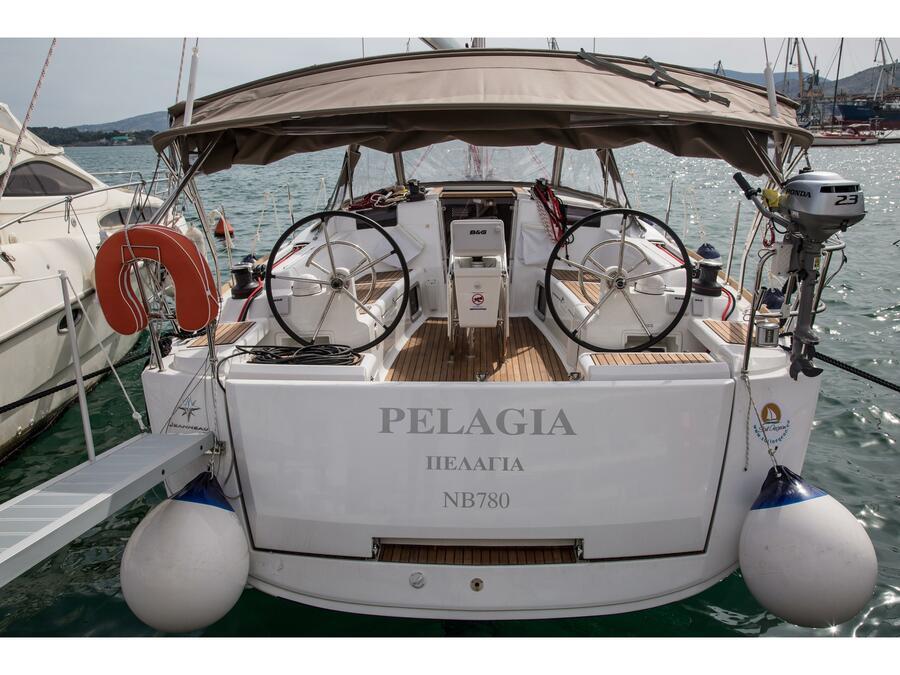 Sun Odyssey 419 (Pelagia) Main image - 0