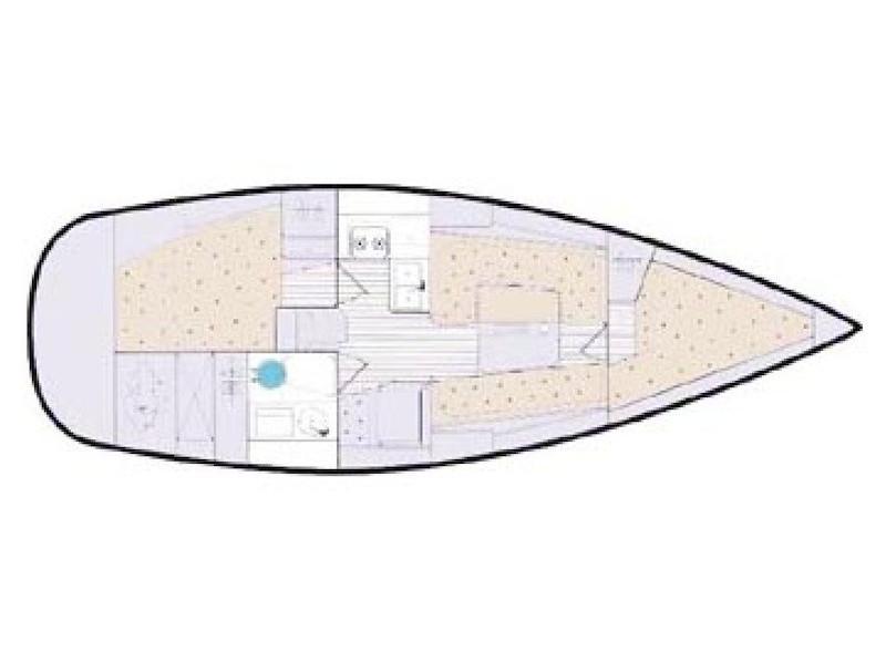 Elan 333 (KADULJA) Plan image - 2