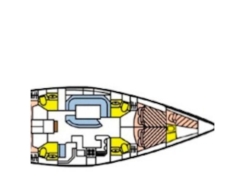 Sun Odyssey 52.2 (JULIANNA) Plan image - 9