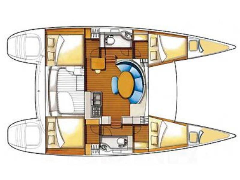 Lagoon 380 (Ploto) Plan image - 2