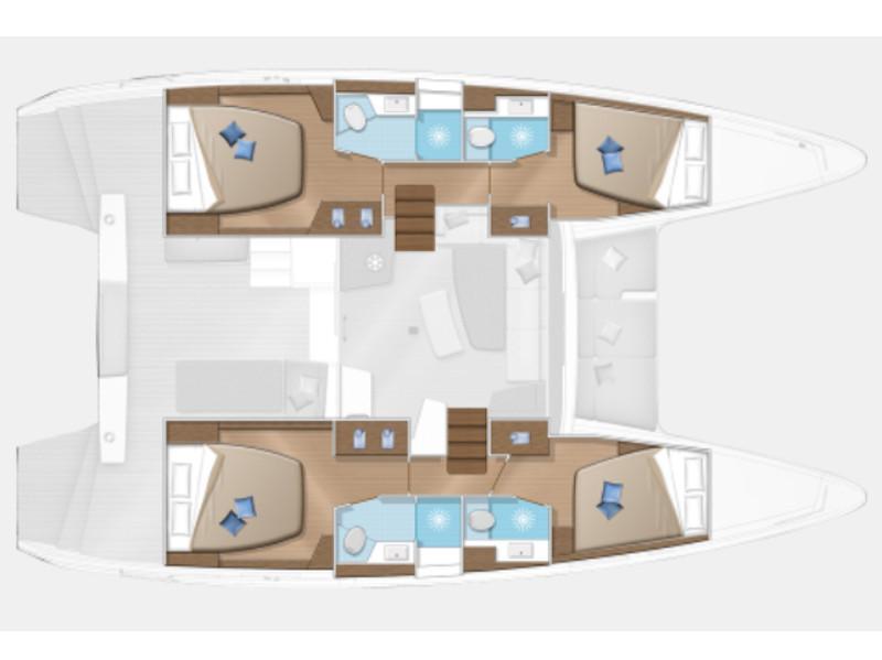 Lagoon 42 (Ulysses) Plan image - 14