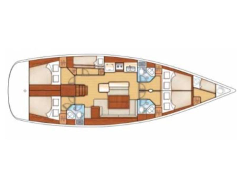 Oceanis 50 Family (LARA ) Plan image - 19