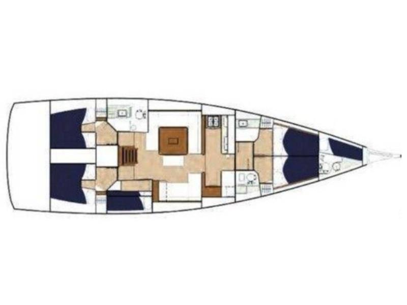 Dufour 560 Grand Large (Altamira) Plan image - 6