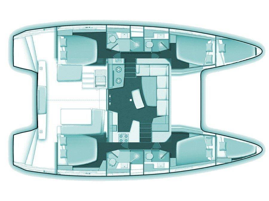Lagoon 42 (Sao) Plan image - 1