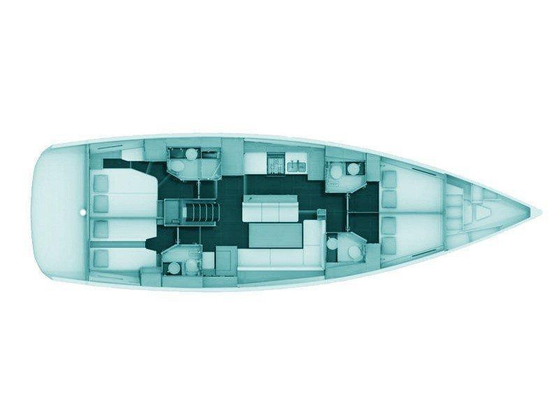 Jeanneau 54 (Kymo) Plan image - 1