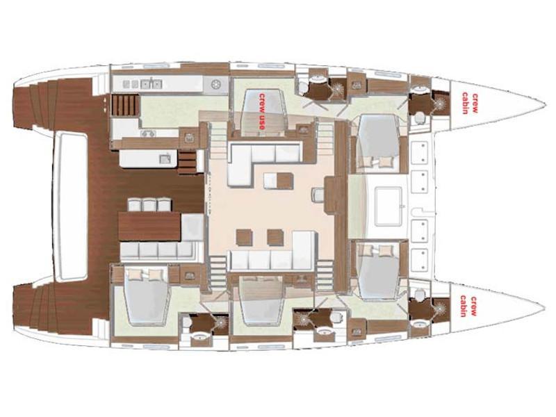 Lagoon 620 Essence (Soleanis II) Plan image - 6