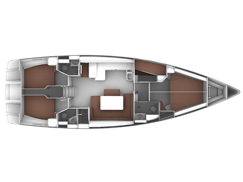 Bavaria  Cruiser 51 (Pota Pota) Plan image - 6