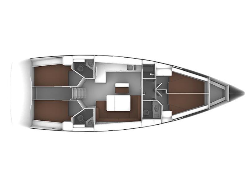Bavaria Cruiser 46 (Perda Longa ) Plan image - 2
