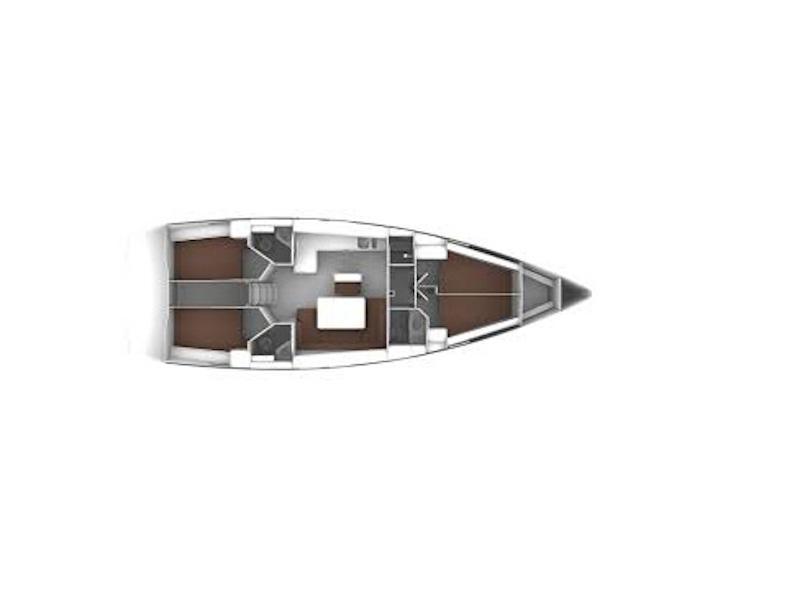 Bavaria Cruiser 46 (Masua) Plan image - 2